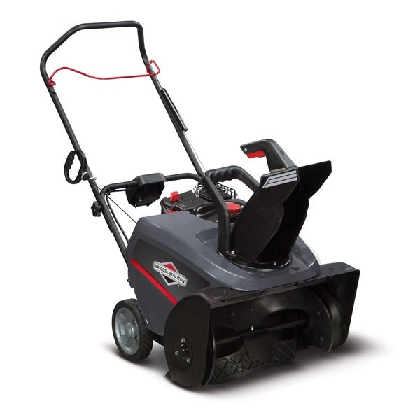 Briggs & Stratton 22-inch 163cc Single-Stage Snow Thrower with Electric Start