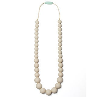Mama & Little Anna Silicone Baby Teething Necklace for Moms - Nursing Necklace - Teething Beads and Baby Teething Toys