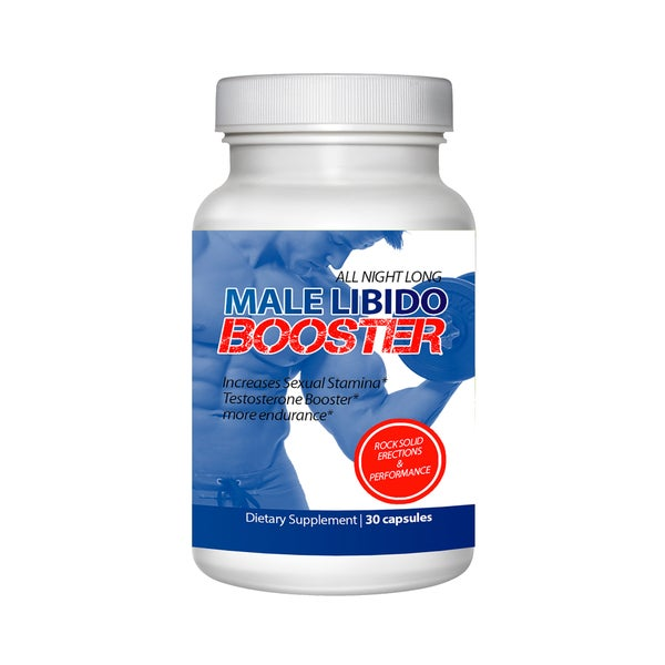 Male Libido Booster-Testosterone Enhancer (60 Capsules)