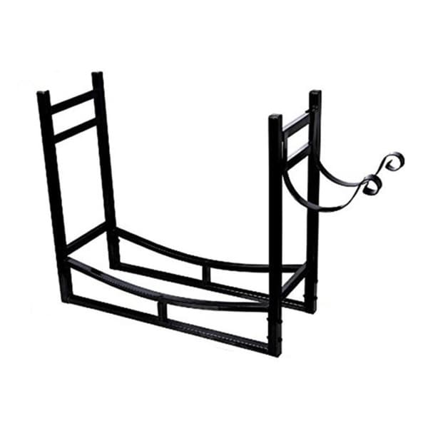 HIO 3-foot Outdoor/Indoor Heavy Duty Steel Firewood Rack