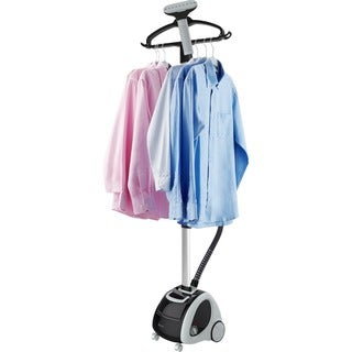 SALAV GS65-BJ Professional Extra Wide Bar Garment Steamer with 360 Swivel Hanger, 4 steam Settings and Storage Pocket