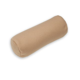 Khaki Neck Relief Buckwheat Bolster