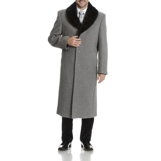 Blu Martini Men's Wool Top Coat