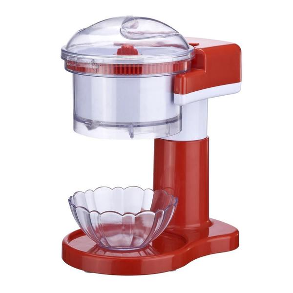 NutriChef PKIS11 Red Electric Ice Shaver/Snow Cone Machine/Shaved Ice Maker