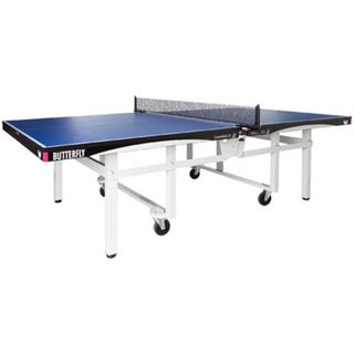 Butterfly Centrefold 25 Table Tennis Table with Net Set - 1 Inch Top - ITTF Approved - Professional Ping Pong Table