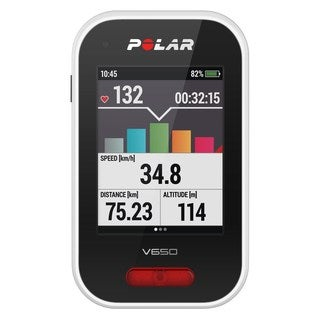 Polar V650 Cycling Computer with Heart Rate