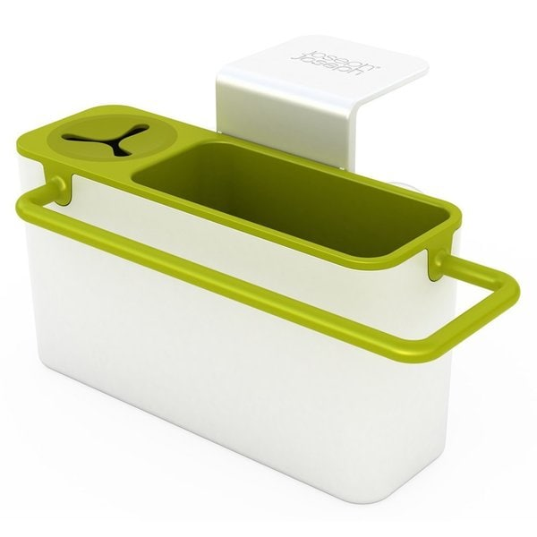 Joseph Joseph White/ Green Sink Aid Self-Draining In-Sink Caddy