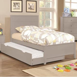 Leah 5 Piece Grey Bedroom Set