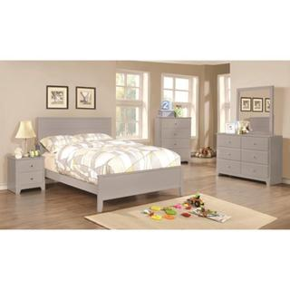 Leah 6-piece Grey Bedroom Set