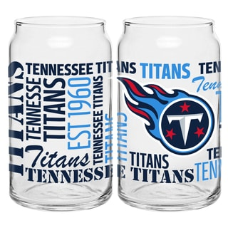 Tennessee Titans 16-Ounce Glass Spirit Glass Set