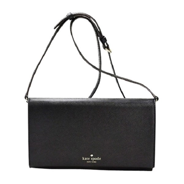 Kate Spade New York Fairmount Square Monday Crossbody - Cross Body Handbags : Black/Thistle