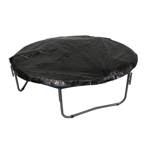 Upper Bounce Black Economy Trampoline Weather Protection Cover for 7.5-foot Round Frames