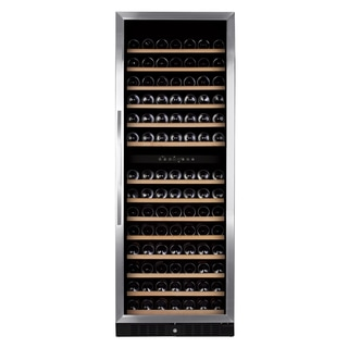 Royal Cave Elite BU-490D 181 bottle Dual Zone Compressor Stainless Wine Cooler Built In/Free Standing