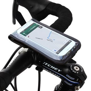 Satechi RideMate Bike Mount (Black) for iPhone 6, 5S, 5C, 5, 4S, 4, 3GS, 3G, Galaxy S2, S3, S4, S5, S6, S6 Edge