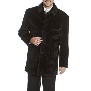 Blu Martini Men's Faux Fur Coat
