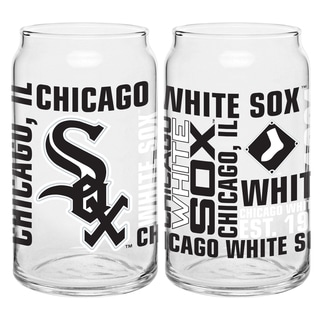 Chicago White Sox 16-Ounce Glass Spirit Glass Set