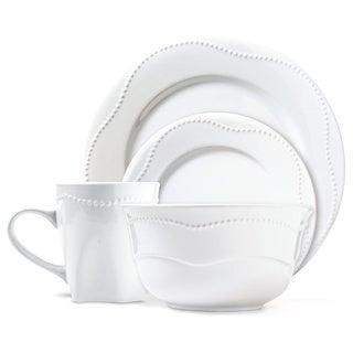 Dotrielle Blanc Premium Ceramic Stoneware Dinner Set