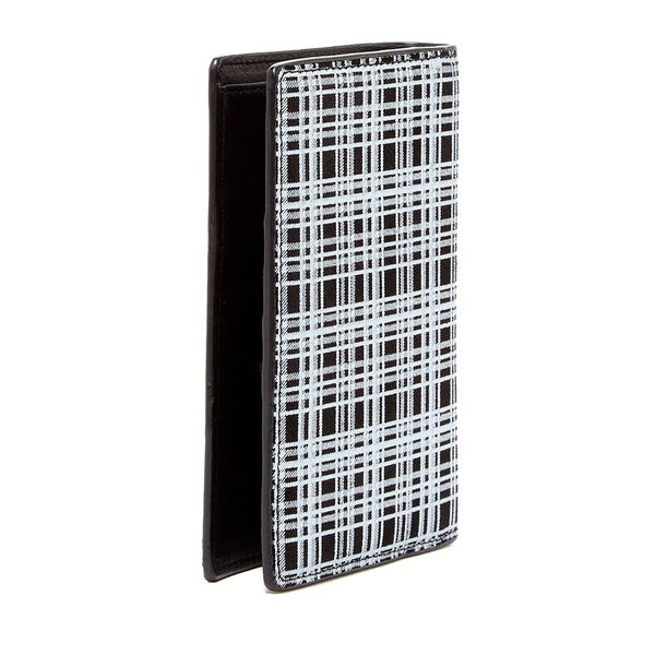 Bodhi Leather Plaid Bi-fold Wallet