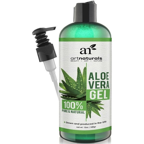 Art Naturals Aloe Vera Gel for Face Hair and Body