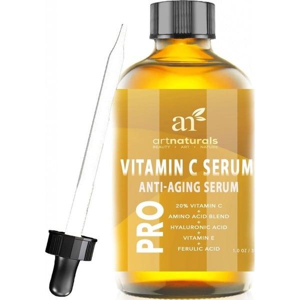Art Naturals Enhanced Vitamin C Serum with Hyaluronic Acid
