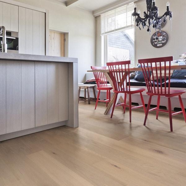 Solidfloor Calista Oak Rustic Plywood White Oiled Engineered Hardwood Plank