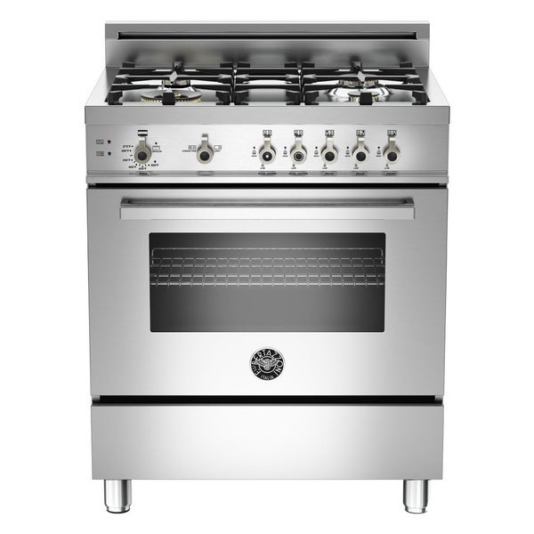 Bertazzoni Professional Series 4 burner 30-inch Gas Range with LP conversion kit included