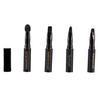 Bliss & Grace 4-in-1 Pen-Sized Travel Makeup Brush Set