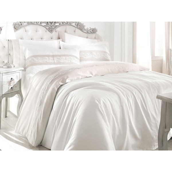 Debage City Sleep 6-piece Queen Lotus Duvet Cover Set