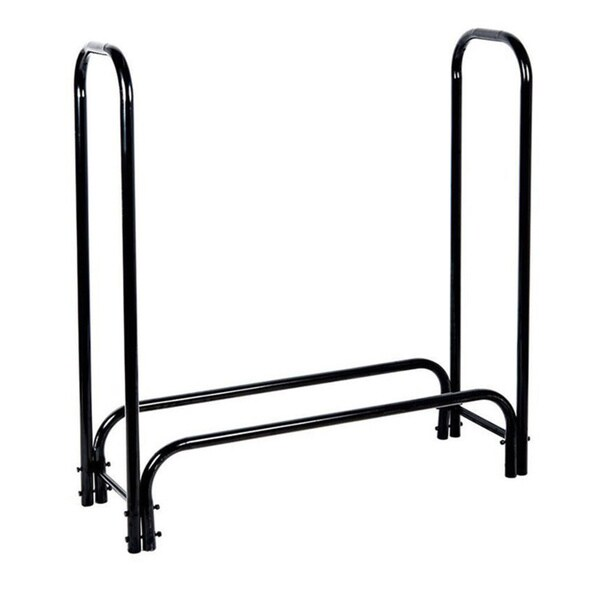 HIO 4-foot Outdoor/Indoor Heavy Duty Steel Firewood Rack