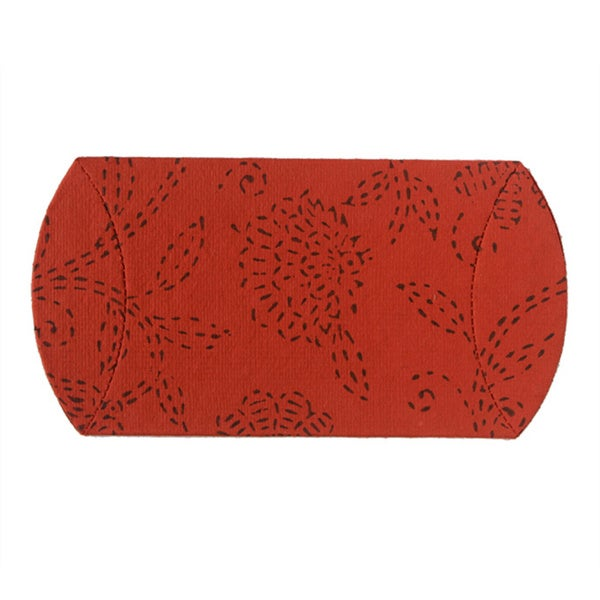 Set of 10 Cinnabar Pillow Boxes (India)