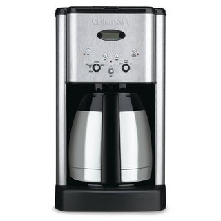 Cuisinart DCC-1400 Silver Brew Central 10-Cup Thermal Coffee Maker (Refurbished)