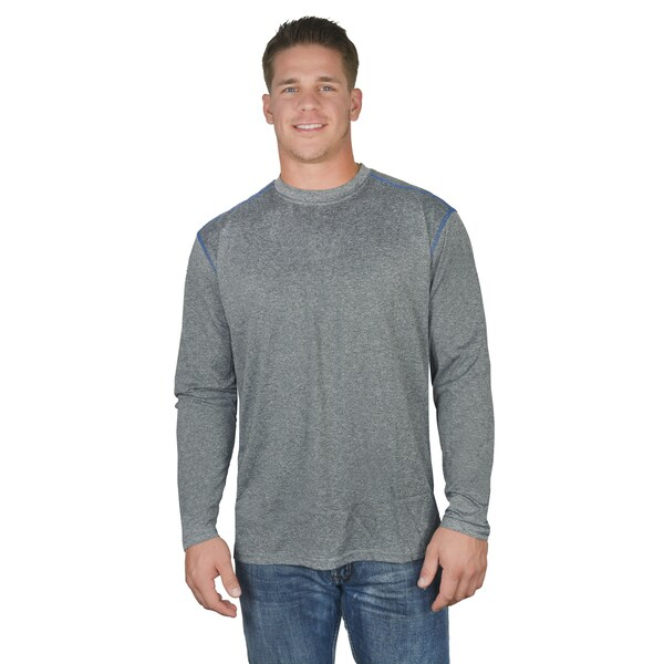 Stanley Men's 100-Percent Cotton Long-Sleeve Crew Neck T-Shirt