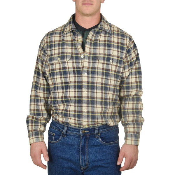 Stanley Men's Cotton Flannel Shirt
