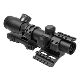 NcStar Shooter I Series 1.1-4X25 Black Scope Mil-Dot, SPR Mount