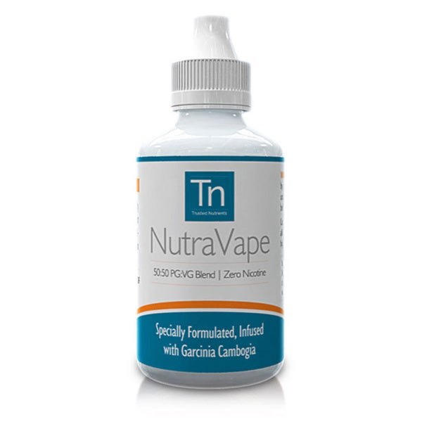 NutraVape ZERO Nicotine E-Liquid with Garcinia Cambogia Strawberry Cheesecake Flavor