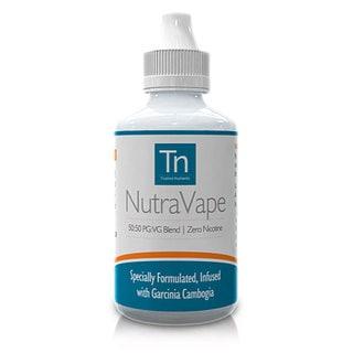 NutraVape ZERO Nicotine E-Liquid with Garcinia Cambogia Strawberry Cheesecake Flavor