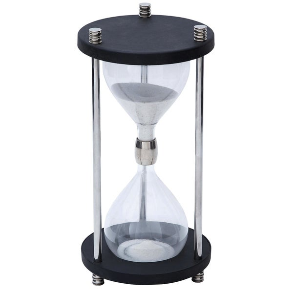 Large 20-inch Sand Timer Brass Hourglass