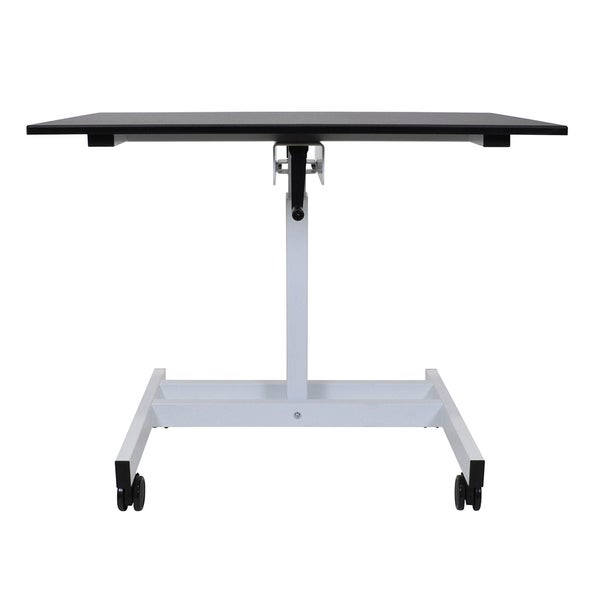 Luxor Single Column Crank Stand-up Desk 16698786