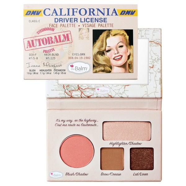 The Balm Autobalm California Face Palette