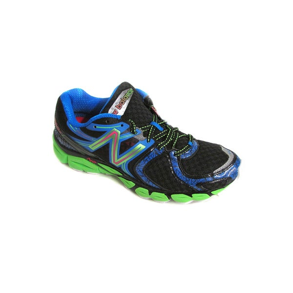 New Balance Men's M1260BG3 Black/Blue/Lime Running Shoes US 8