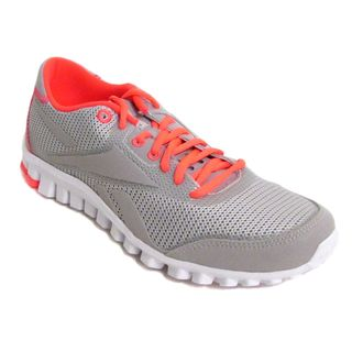 New Reebok Mens RealFlex Optimal 3.0 Zinc GreyVit C/Wht Running-Shoes US 7 NIB