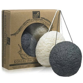 Art Naturals Konjac Facial Sponge Set (Pack of 2)