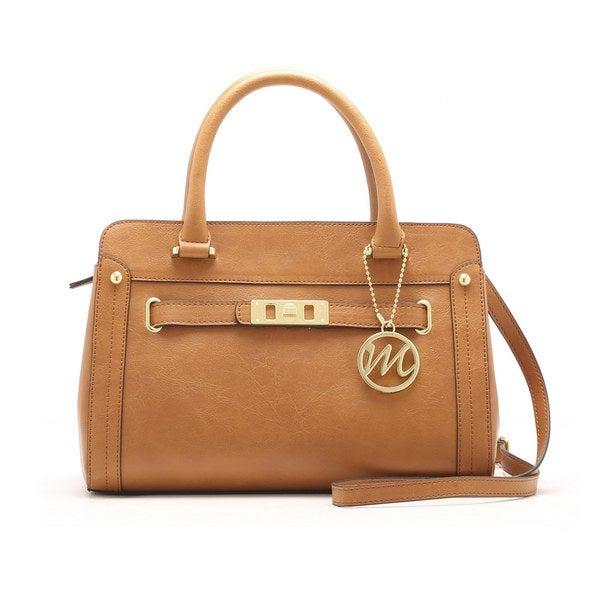 Emilie M. Karen Satchel Handbag