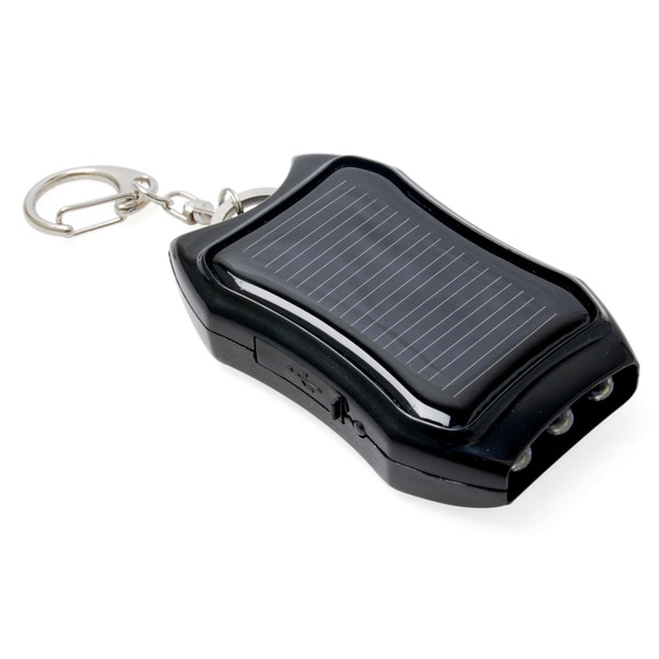 WindSoleil Surya Solar Power 1200mAh Portable Battery Bank Charger Keychain