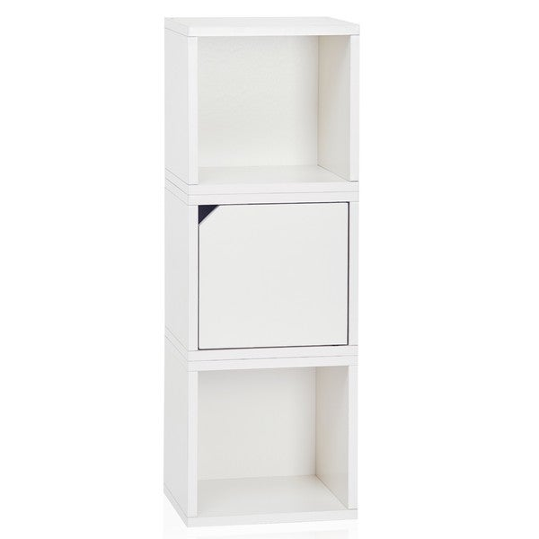 Way Basics White 3-cube Storage
