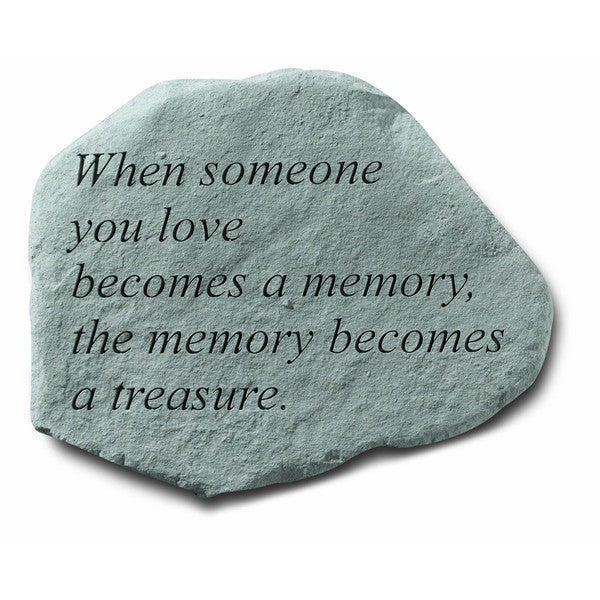 Kay Berry 'When Someone You Love' Garden Accent Stone