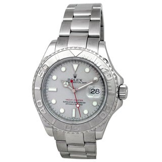 Pre-owned Rolex Men's Yachtmaster Watch