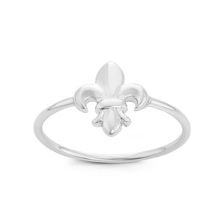 La Preciosa Sterling Silver Fleur de Lis Ring