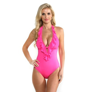 Kenneth Cole Reaction Women's Punch One-piece Swimsuit