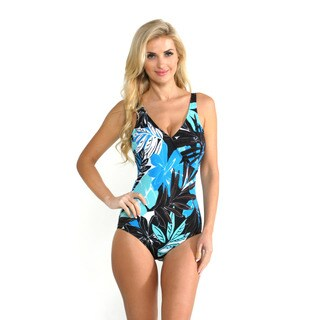 Magic Suit by Miracle Suit Urban Safari Macarena One-piece Swimsuit